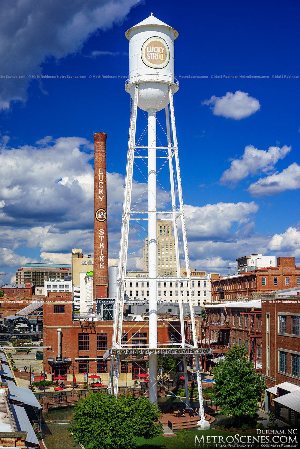 Lucky Strike Tower in Durham