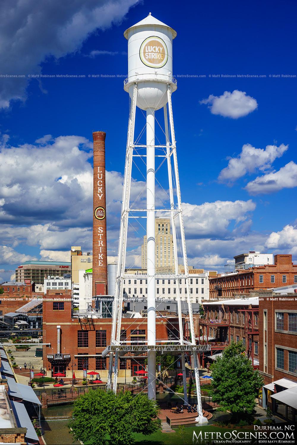 Lucky Strike Tower in Durham