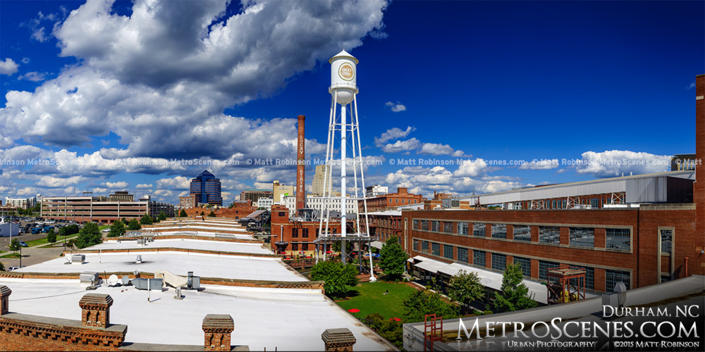 American Tobacco District in Durham NC 2015