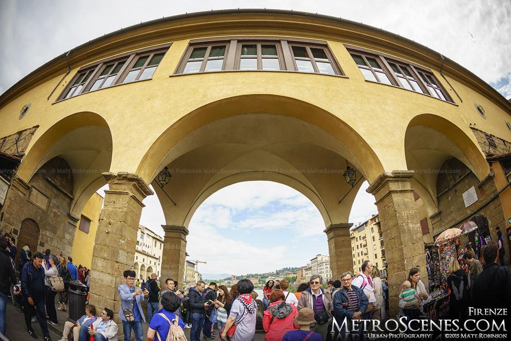 Arches of Ponte Vecchio