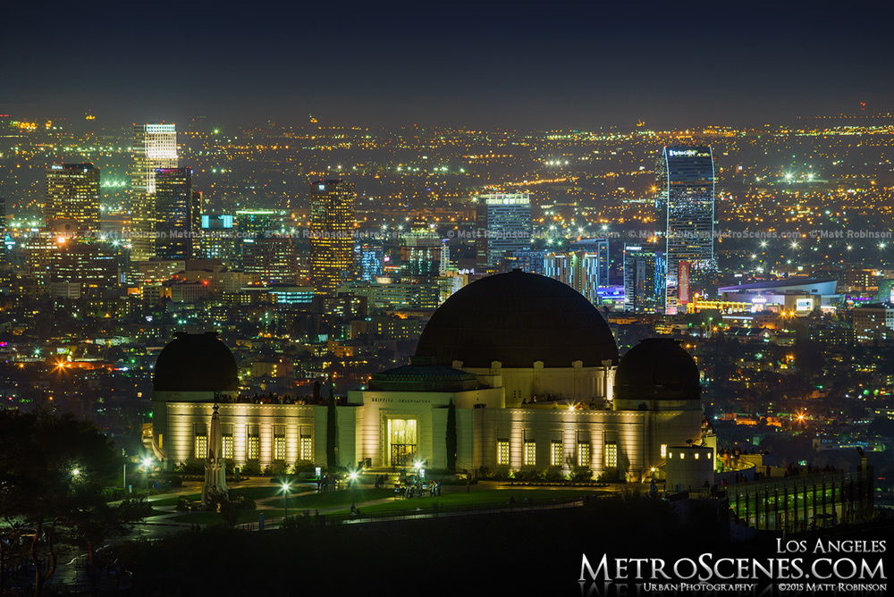 Griffith Observatory of Los Angeles