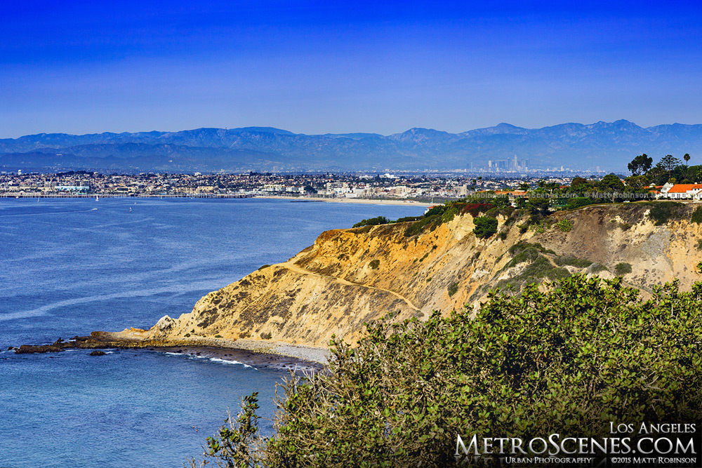Distant Los Angles from Palos Verdes