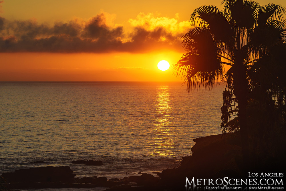 Sunset from Laguna Beach