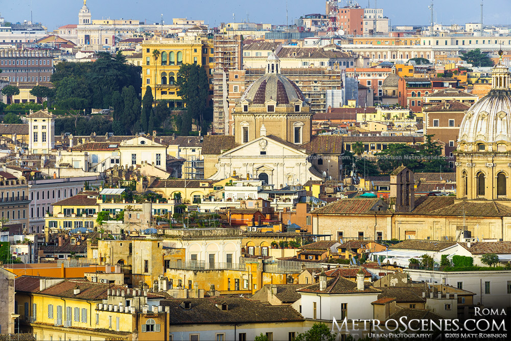 Rome from Janiculum Hill