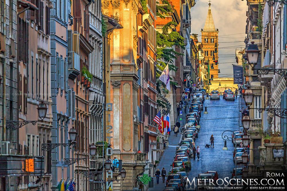 Hilly Via Sistina, Roma