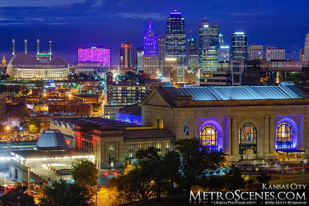Downtown Kansas City Skyline 2016