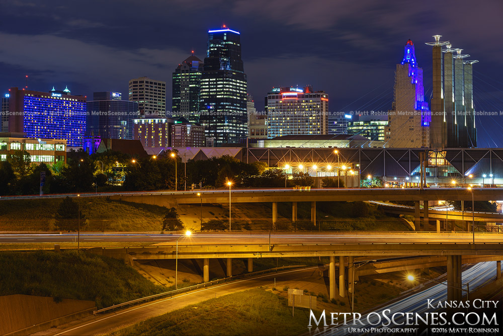 Kansas City Overpasses and One Kansas City Place