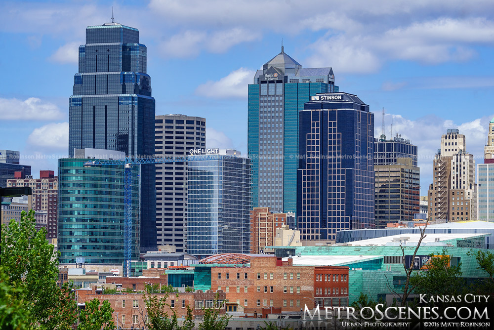 Cluster of Downtown Kansas City Buildings