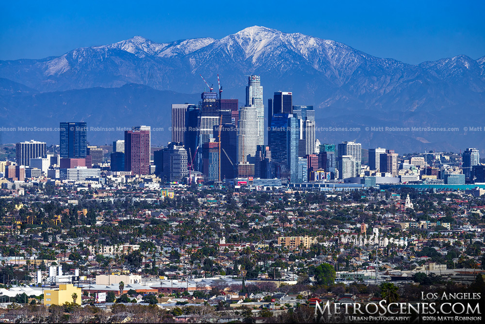 Los Angeles Skyline 2016