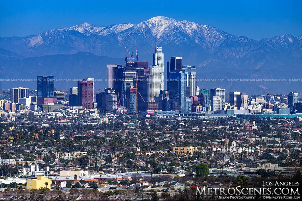 Los Angeles Skyline 2016