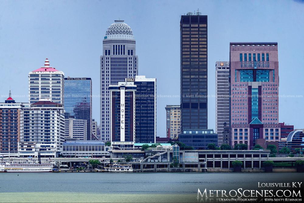 Louisville, Kentucky Skyline