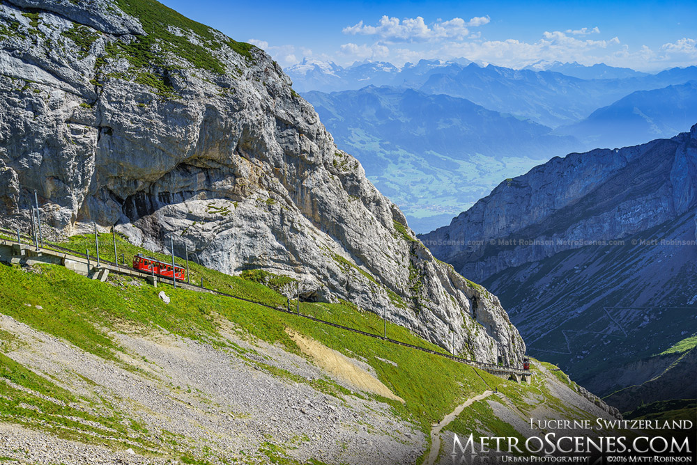 Mt. Pilatus Cogwheel railway - Pilatus Bahnen