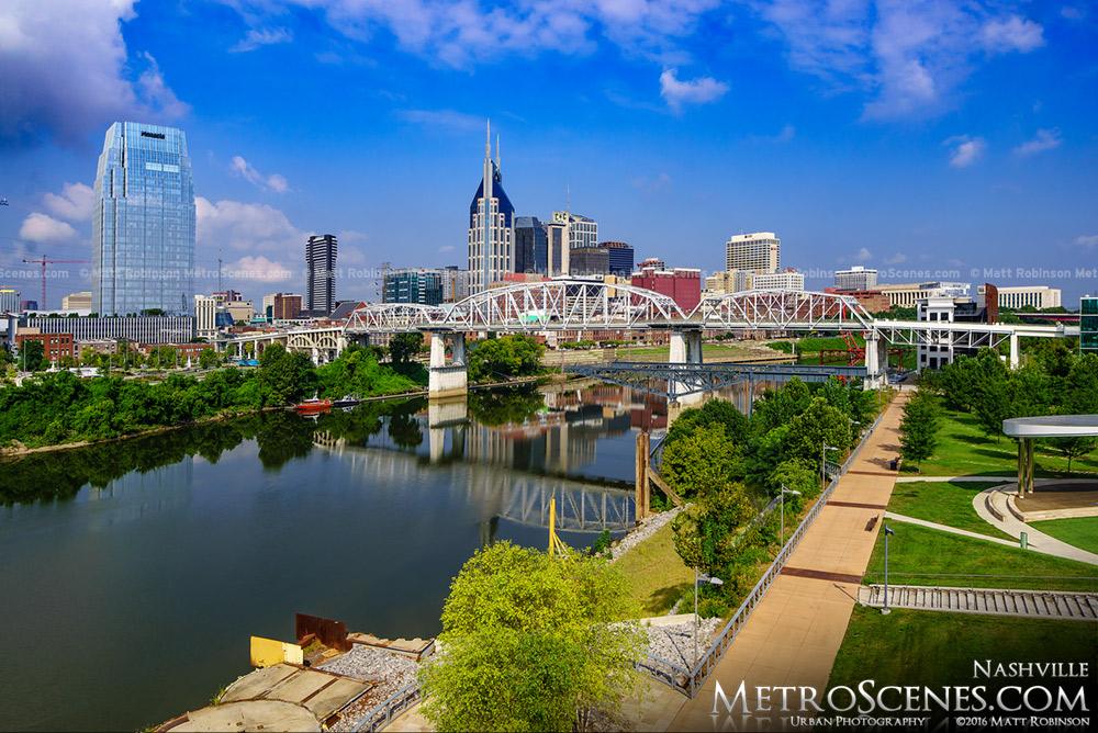 Daytime Nashville Skyline