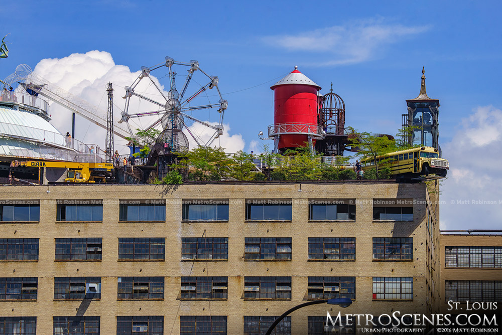 Top of the City Museum in Saint Louis