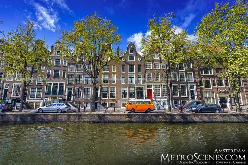 Houses along Leidsegracht Canal