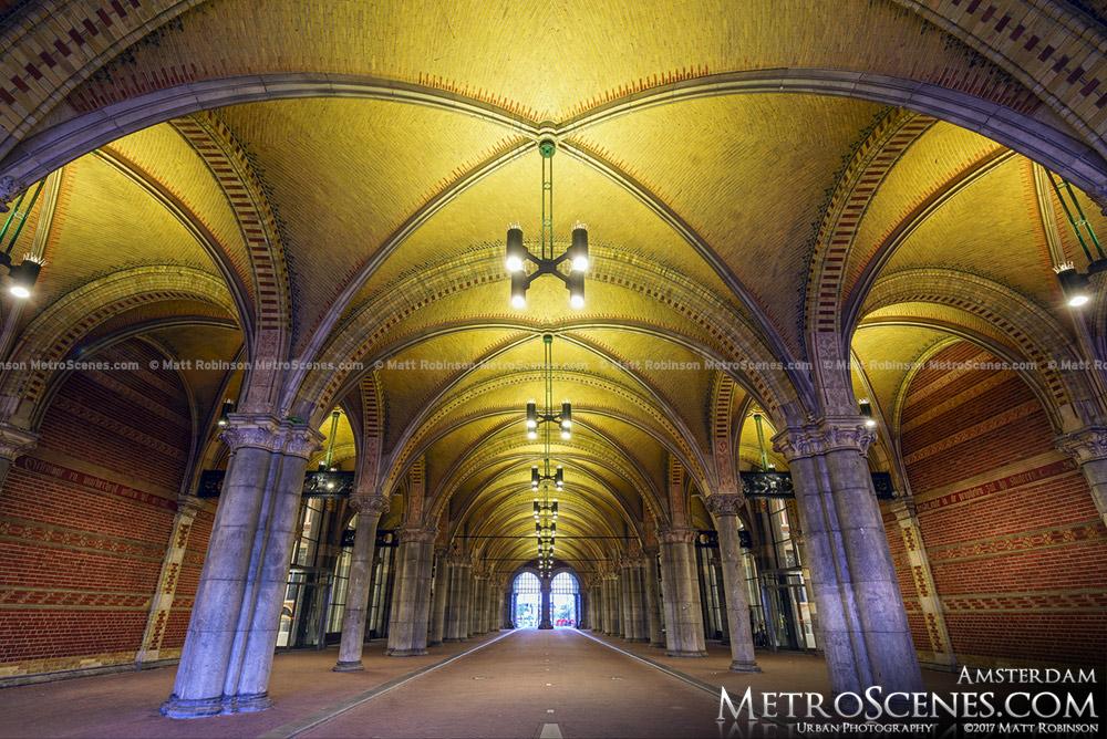 Rijksmuseum Underpass Ceiling