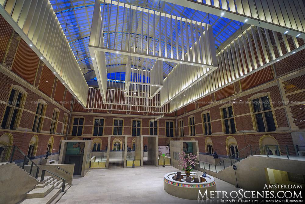 Empty Rijksmuseum