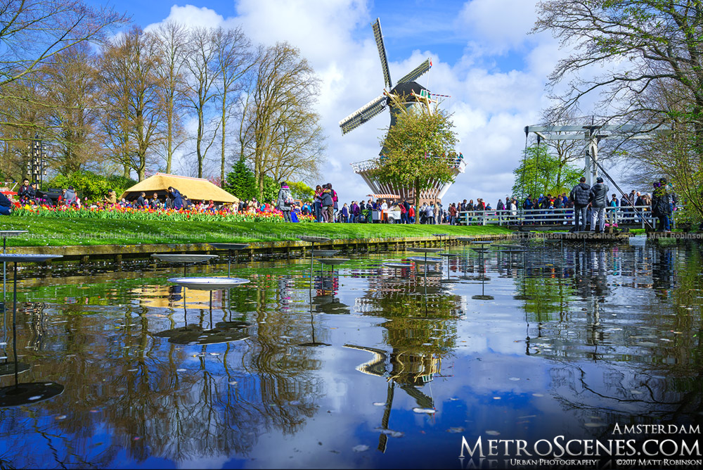 Windmill at Keukenhof