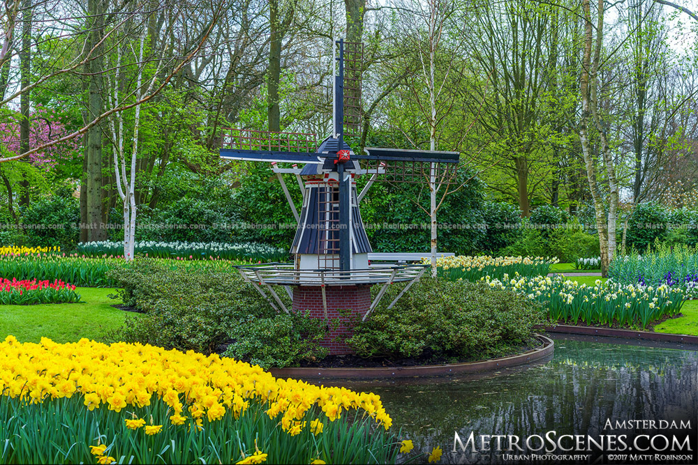 Miniature Windmill at Keukenhof