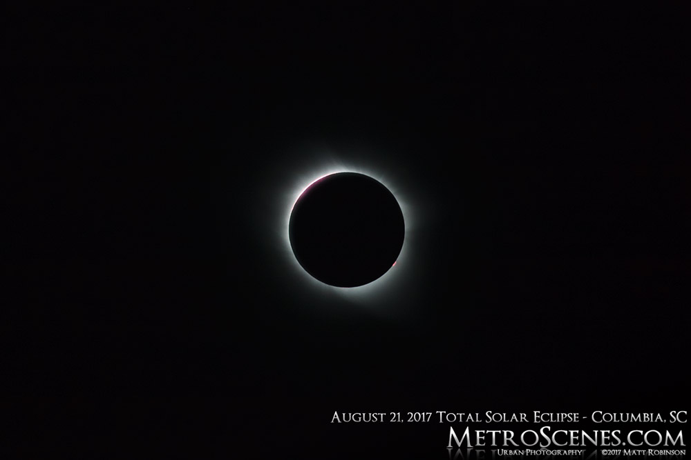 August 21, 2017 solar eclipse from Columbia, SC