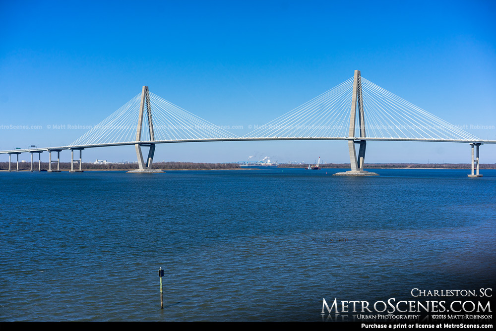 Arthur Ravenel Bridge in Charleston, SC