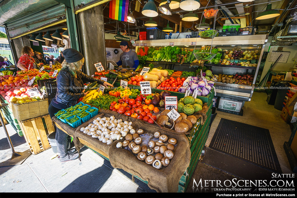 Seattle Public Market Produce