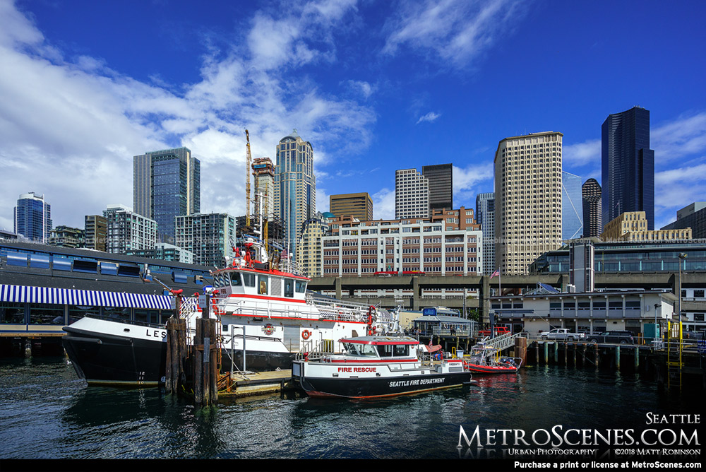 Seattle Fire Department and Skyline