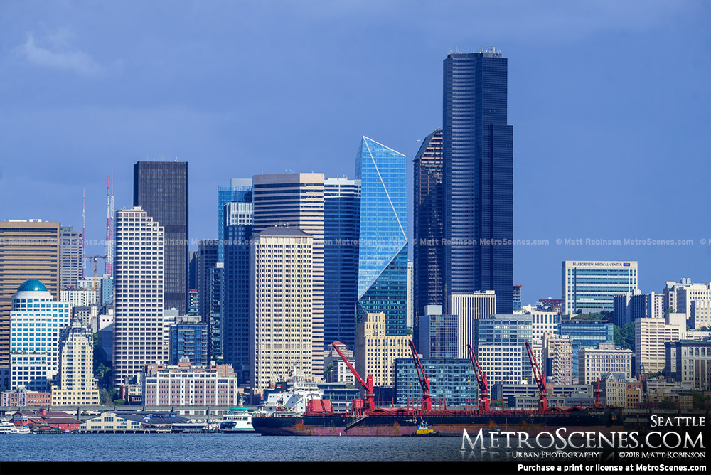 Seattle Skyline from Alki Beach