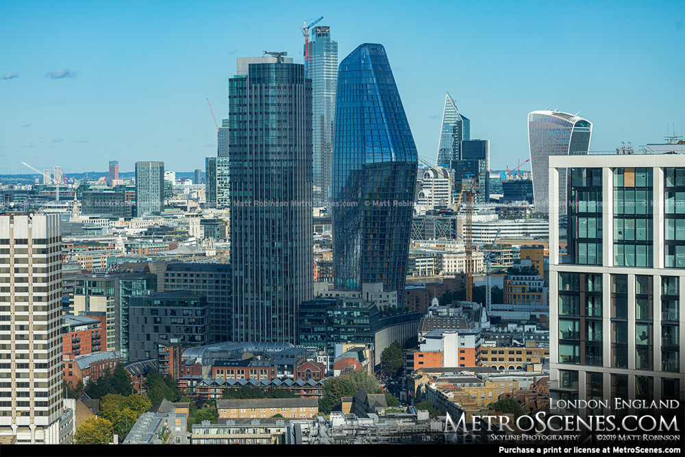 London Skyscrapers 2019