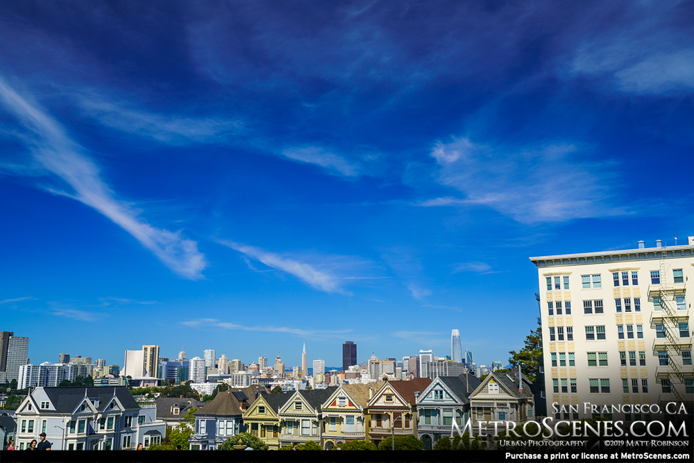 Blue Sky over San Francisco