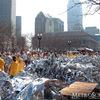 Heat Blankets at the Boston Marathon 2002