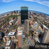 Boston as seen from the Prudential Center Skywalk Observatory