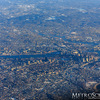 Boston Aerial from 10,000 Feet