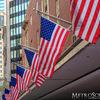 American Flags in Boston