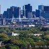 Downtown Boston Skyline seen from Medford