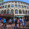 Faneuil Hall Market Place Fisheye